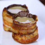 Shot Glasses Chocolate pancetta