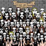 Finde den Panda, Black Metal Version