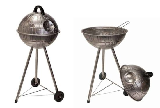 The Death Star as a BBQ grill