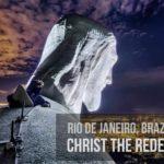 Auf die Christus-Statue in Rio klettern
