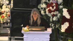Aufzeichnung von Lemmy Kilmisters Gedenkfeier
