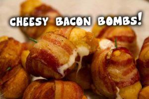 Cheesy Bacon bomber