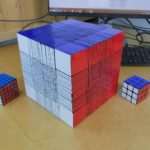 The largest Rubik's Cube World