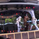 This young padawan goes like a madman on Darth Vader going on in Disneyland