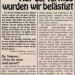 Shame on Sex Mob – Dr. Zomer 1977