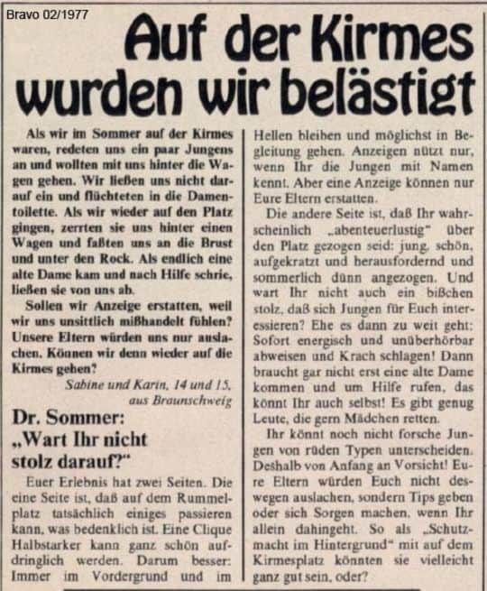 Shame on Sex Mob - Dr. Summer 1977