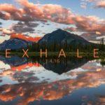 Exhale 4K: Amérique du Nord paysage Timelapse
