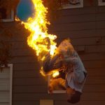 Feuerspucken Backflip med Steve-O och Slow Mo Guys