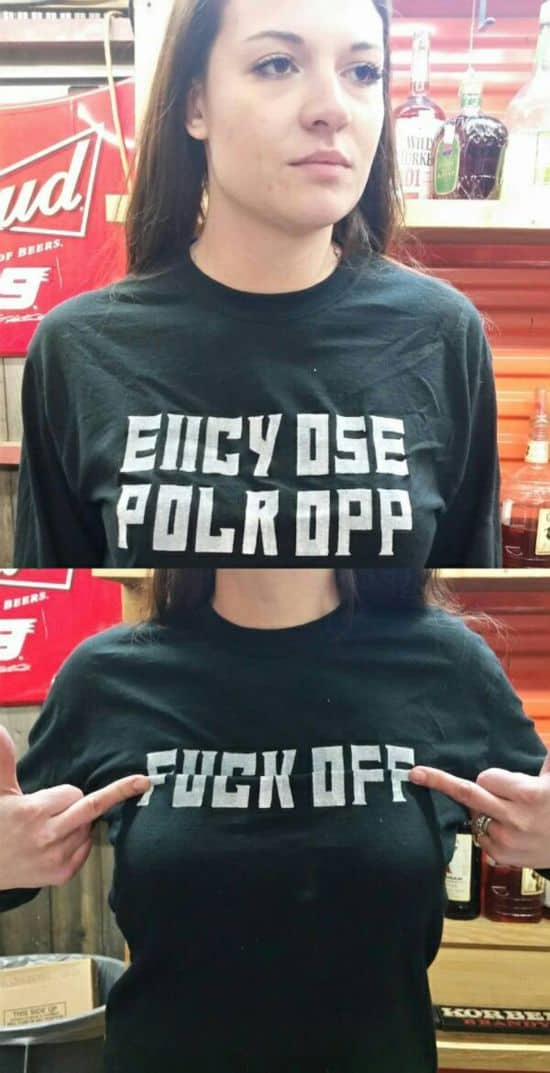 Fuck Off Shirt