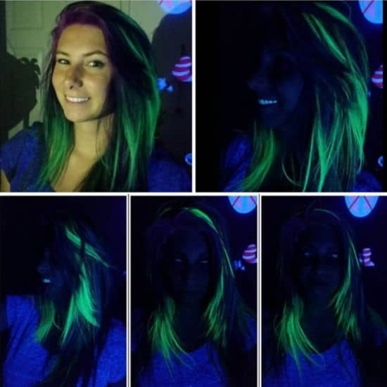 arc-cheveux, qui brille dans le noir