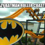 Irre 4D Batman Achterbahn
