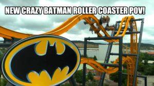 Astray 4D Batman rollercoaster