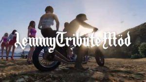Lemmy Kilmister Tribute GTA V Möd