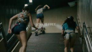Love Is Free - Badass Roller Girls