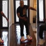 "Ouch: Mike Tyson on a ""Hoverboard"""
