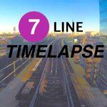 NYC Subway Timelapse