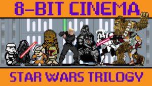 Original Star Wars Trilogy als 8-Bit Game