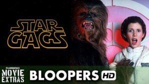 Outtakes aus den ersten sechs Star Wars Filmen