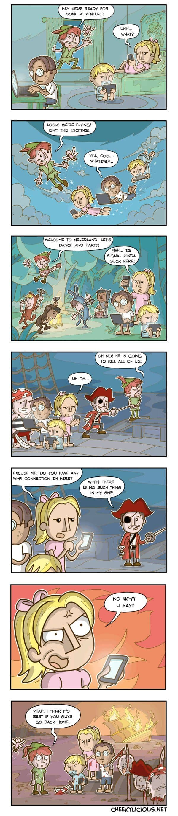Peter Pan and Millennials