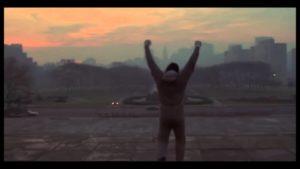 """Rocky Training mit """"realistischen"""" Ses ve müzik olmadan"""