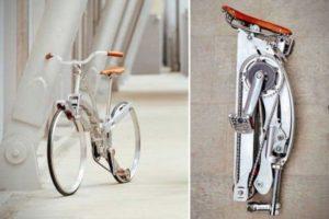 Sada Bike: Rad ohne Naben, leicht zu falten