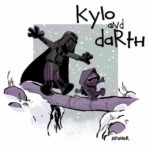 """star wars: The Force Väcker"" uppfyller ""Calvin and Hobbes"""