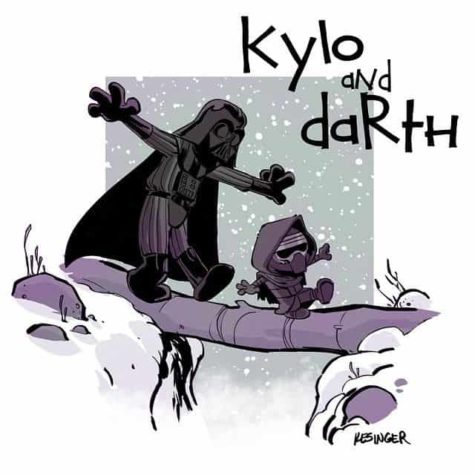 "& Quot; Star Wars: The Force Ontwaakt"" Meets & quot; Calvin en Hobbes"""
