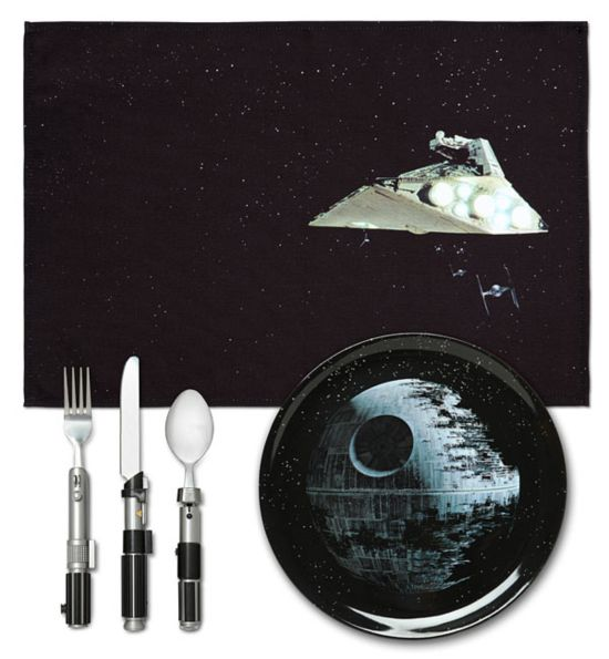 Star Wars Death Star placemat