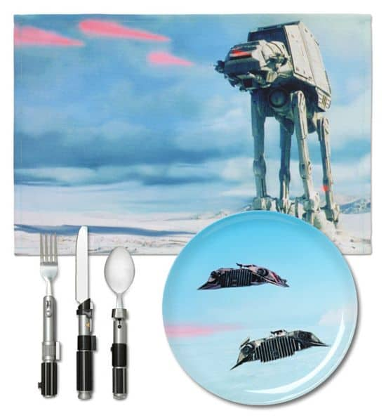 Star Wars Hoth Tischset