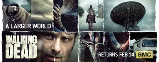 "Vorschau & quot; The Walking Dead"" Esquadra 6, Episódio 9 – Poster"