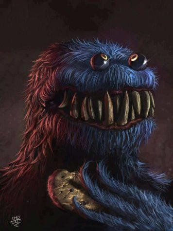 Evil Cookie Monster