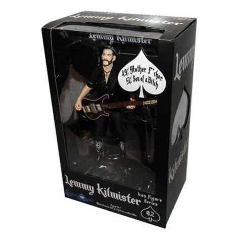 Motorhead: Lemmy Action Figure is heruitgegeven in juli
