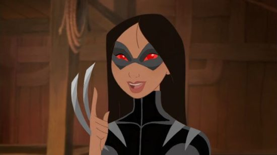 X-Men Princesas da Disney - Mulan X-23