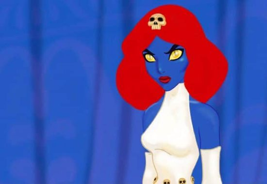 X-Men Disney-Prinzessinnen - Jasmine Mystique