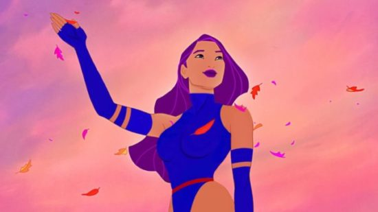 X-Men Disney Princesses - Pocahontas Psylocke