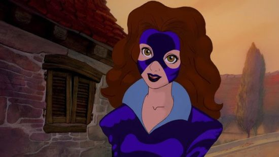 X-Men Princesas Disney - Belle Sombras