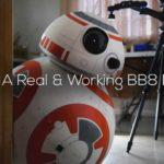 BB-8 Droide in voller Grösse im Eigenbau