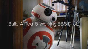 BB-8 droid fuld størrelse Byg din egen