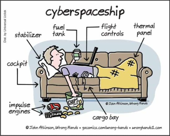 The Cyberspaceship