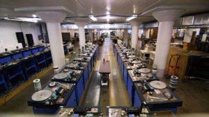 Die letzte Musikkassettenfabrik