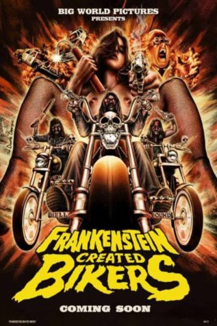 Frankenstein Skabt Bikers - Poster