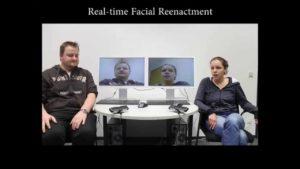 Gesichtausdrücke nachgestellt in Echtzeit