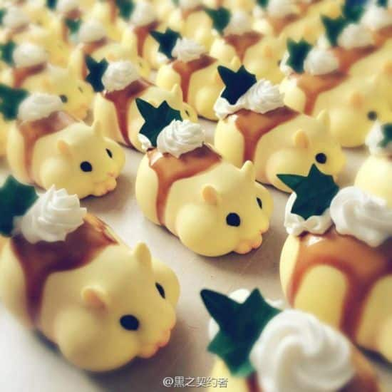 Japanische Bäckerei backt Hamster als Brot