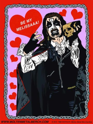 Heavy Metal Heroes Valentines Day Card