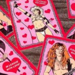 Heavy Metal Heroes Valentines Day Cards