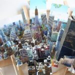 panoramas de la ville de photo 3D collages par Isidro Blasco