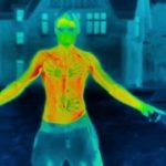 Körperabkühlung bei Gefriergraden mit der Wärmekamera festgehalten