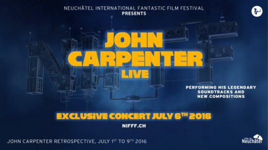 John Carpenter är NIFFF 2016