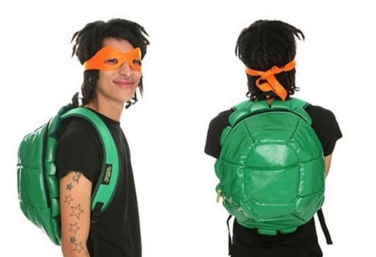 Ninja Turtles carapace backpack