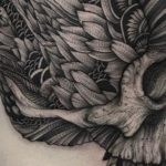 Tattoos: The dark creatures of Parvick Faramarz